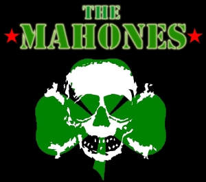 The Mahones - Skull/Shamrock